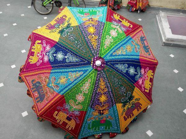 Mooie parasol voor in de tuin